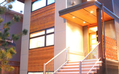 Passive Narrow House Featured in EcoHouse Canada Magazine
