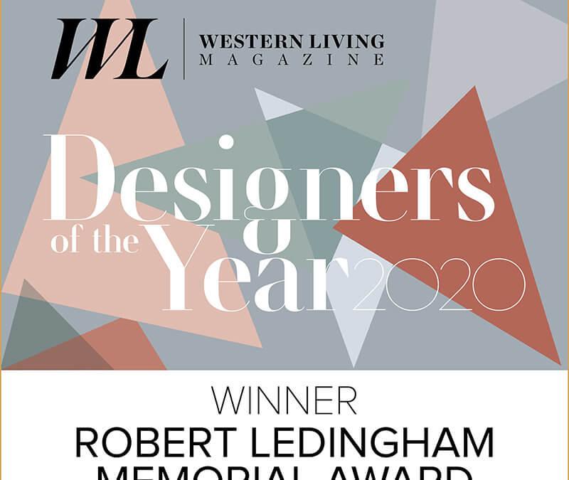 ONE SEED Named Designer of the Year by Western Living Magazine for the Robert Ledingham Memorial Award