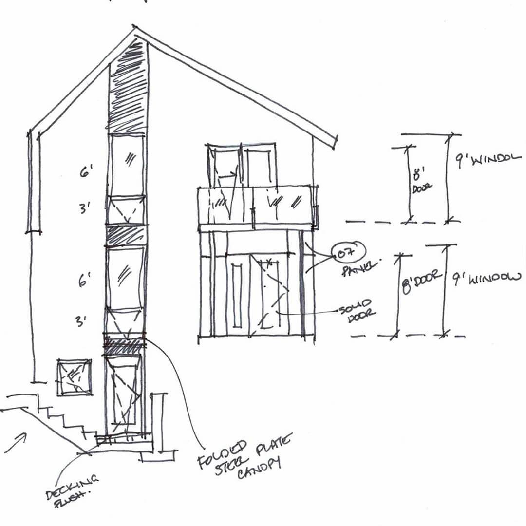 OneSEED_BirdsWingPassiveHausPlus_15 concept sketch rear